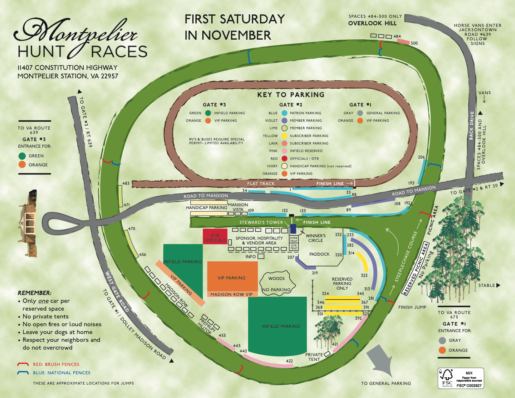 montpelier grounds map